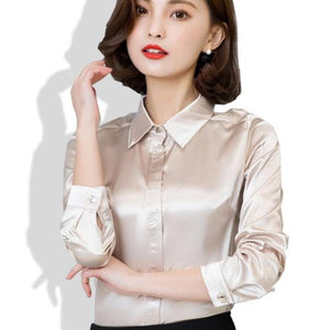 Casual Silk Blouse - 64 Corp
