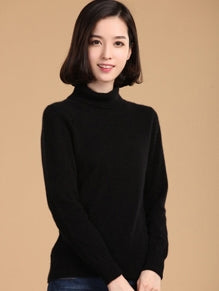Turtleneck Sweater Women - 64 Corp