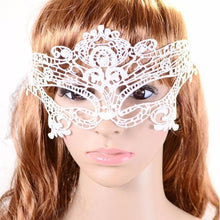 Women Sexy Lace Elegant Eye Face Mask Masquerade Ball Carnival Fancy Party  For Masquerade Halloween Venetian Costumes Carnival