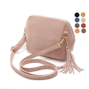 Fringe Crossbody Bag Women Suede Clutch Bag Girl Fashion Messenger Shoulder Handbags Ladies Beach Holiday Tassel Bags 10 colors - 64 Corp