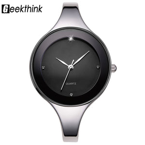 GEEKTHINK Luxury Brand Fashion Quartz Watch Women Ladies Stainless Steel Bracelet Watches Casual Clock Female Dress Gift Relogio - 64 Corp