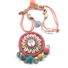 2017 Hot Boho Collar  Silver Statement Necklace Jewelry for Women Fashion Vintage Ethnic Style Bohemia Bead Neck - 64 Corp