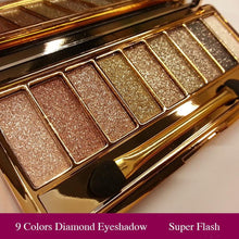 Professional Eye Shadow Maquillage 9 Colors - 64 Corp