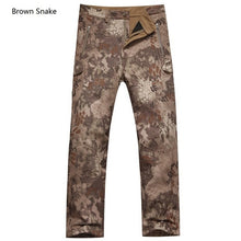 Shark Skin Soft Shell Tactical Military Camouflage Pants - 64 Corp