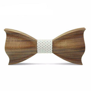 Three-Dimensional Wood Bow Tie - 64 Corp