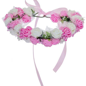Women Bezel Flowers on Head - 64 Corp