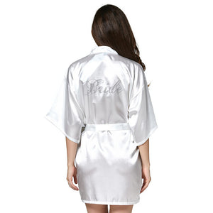 Silk White Terry Bathrobe - 64 Corp