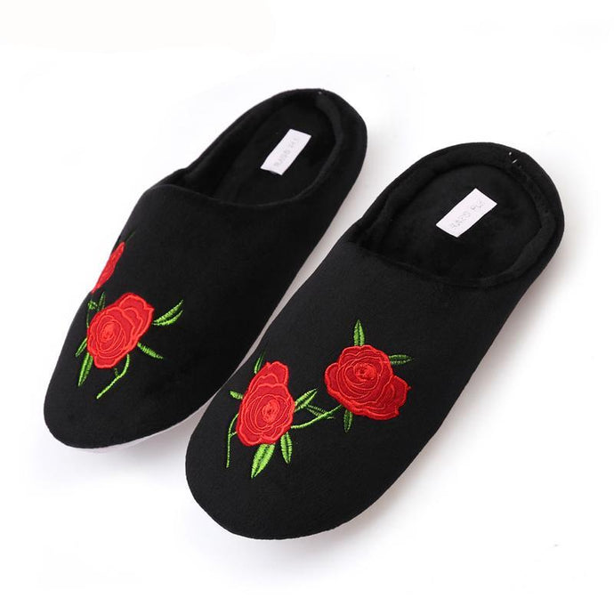 Quiet Cotton Fluffy Slippers F - 64 Corp
