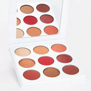 Burgundy 9 colors Natural Shimmer Matte - 64 Corp