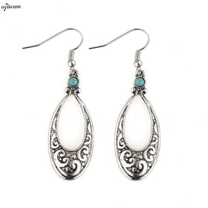 aritos Gypsy Earrings For Women Tribal Earrings Hippie Boho Native American Jewelry Bohemian Earrings Navajo Ethnic Earrings - 64 Corp