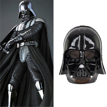 Star Wars Darth Vader Halloween Mask Deluxe Star Wars Maske Superhero Theme Party Supply Costume Toy 24.5*19.5CM Black White