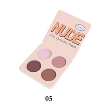 6 Color Matte Eye Shadow Palette - 64 Corp