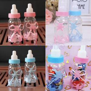 12X Baby Shower Baptism Christening Birthday Gift Party Favors Candy Box Bottle - 64 Corp