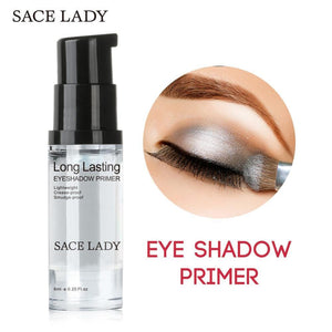 SACE LADY Eye Shadow Primer Make Up Base Natural Professional Cosmetic Eyeshadow Makeup Cream Long-lasting Palette Waterproof - 64 Corp