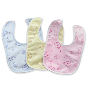 Happy Baby Bib Velvet Waterproof Baby Care Towels - 64 Corp