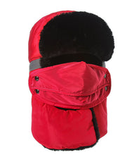 Windproof Thick Warm Winter Snow Women Cap - 64 Corp