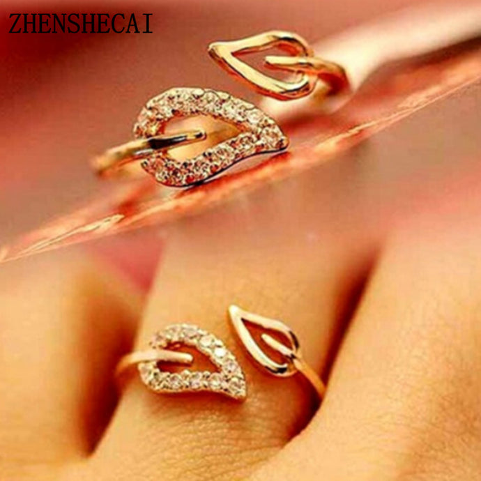 The Personality Party Leadership Commitment Gift Shining Bright Elements Rings For Women Lovers Open Ring Hot 2017 Wholesale nj3 - 64 Corp