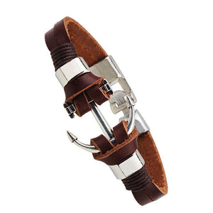 Men Genuine Leather Handmade Bracelet - 64 Corp