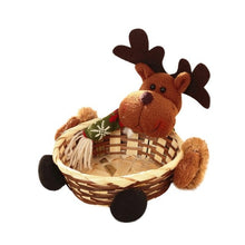 Christmas Candy Storage Basket Xmas Decor Santa Claus Storage Basket Gift Natale Ingrosso Christmas Decorations for Home