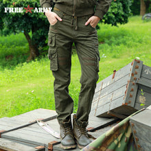 FREEARMY Brand Woman Tactical Pants Military Cargo Pants Multi-pockets Women Pants Casual Trousers Army Pants with Drawstring - 64 Corp