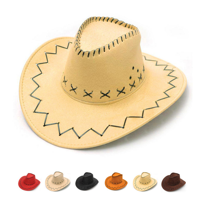 Western Cowboy Hats Fashion Tourist Caps for Travel Men Womens Caps Chapeu Cowboy Cowgirl Vaqueros Unisex Hats - 64 Corp
