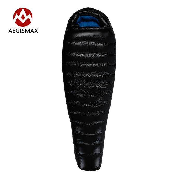 AEGISMAX Winter Goose Down Sleeping Bag Splicing Single Mummy  Cold Weather Sleeping Bags G1 G2 G3 - 64 Corp