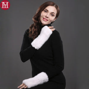 Strong Elasticity Fur Mittens - 64 Corp