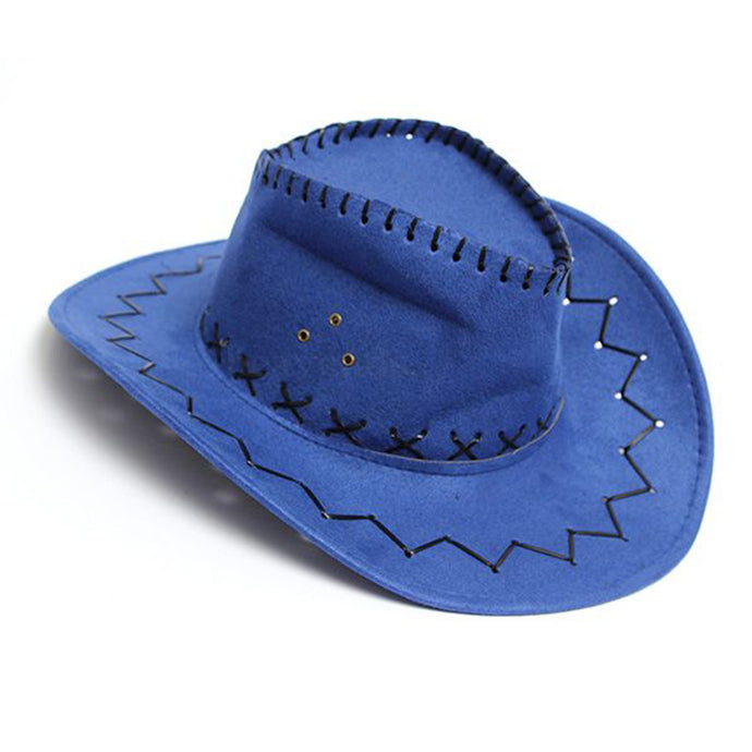 Denim Wild West Cowgirl Rodeo Fancy Hats - 64 Corp