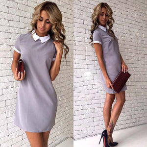 Women Autumn SpringOffice Dresses - 64 Corp
