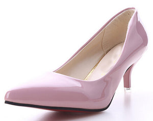 Mujer Pointed Toe High Heels Fashion Sexy Shoes - 64 Corp