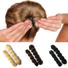 1 Set Women Girl Magic Style Hair Styling Tools Buns Braiders Curling Headwear Hair Rope Hair Band Accessories - 64 Corp