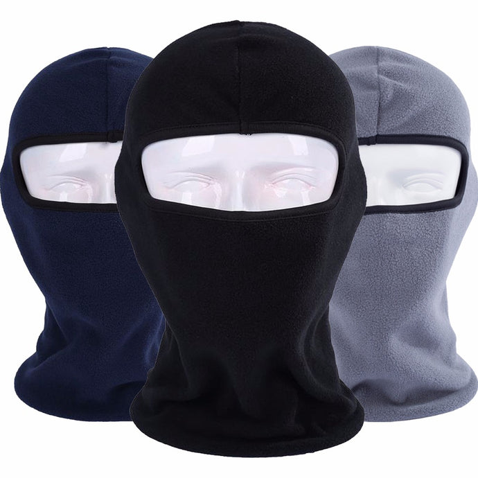 Winter Breathable Warmer Balaclava Fleece Wool - 64 Corp