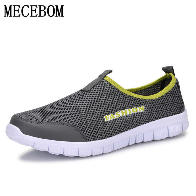 Men's Summer Shoes Plus Size 35-46 Comfortable Men Casual Shoes Mesh Breathable Loafers Slip-on Footwear A01m - 64 Corp