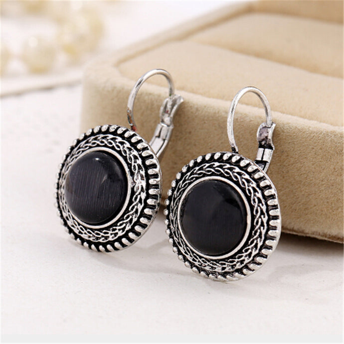 ZOSHI 2017 Fashion Boho Big Drop Earrings For Women Jewelry Brinco Carved Vintage Tibetan Silver Bohemian Long Earrings - 64 Corp