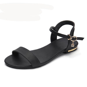 Genuine Leather Soft Rubber Sole Sandals - 64 Corp