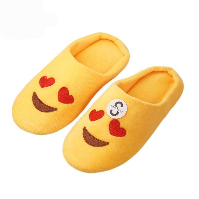 Women Emoji Slippers - 64 Corp