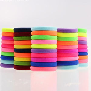 Candy Fluorescence Colored Hair Holders - 64 Corp