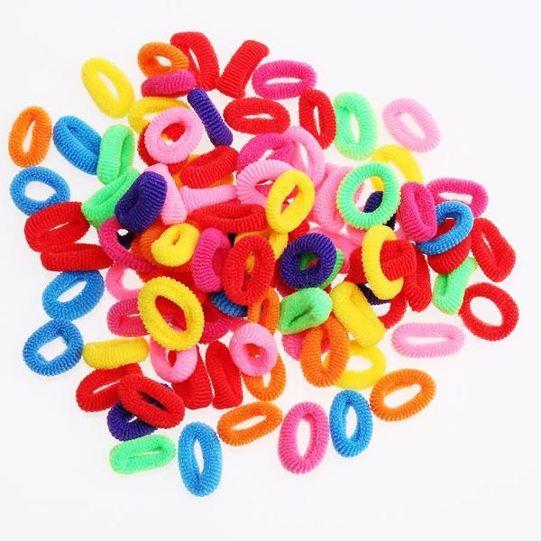 Cute Rubber Hair Band Elastics Accessories - 64 Corp