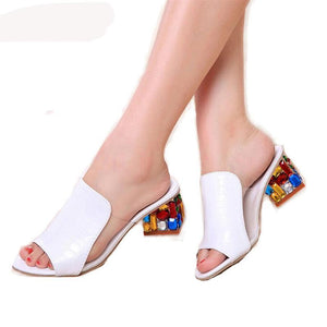 Ladies Summer Slippers / High Heels Sandals - 64 Corp