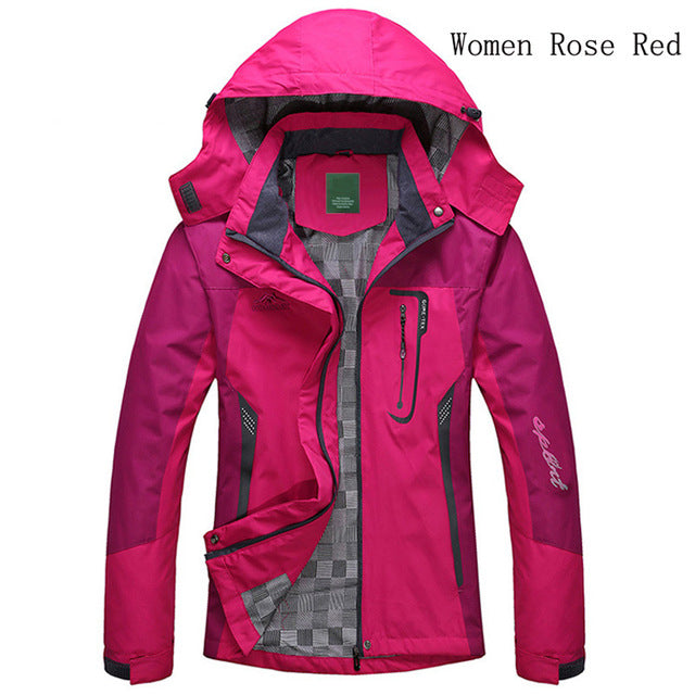 2018 Spring Autumn Winter Women Jacket Single thick outwear Jackets Hooded Wind waterproof Female Coat parkas Clothing - 64 Corp