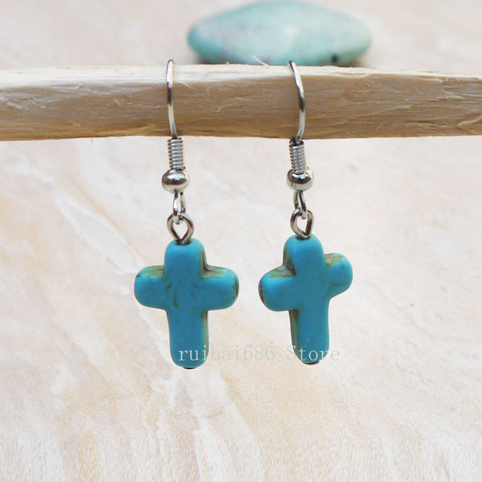 TRENDY CROSS EARRINGS - 64 Corp