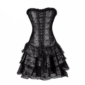 Steampunk Corsets and Bustiers Dress - 64 Corp