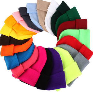 Candy Color Knitting Hats Girls - 64 Corp