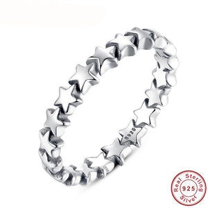 Star Trail Stackable Finger Ring - 64 Corp
