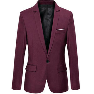 Stylish One Button Formal Suit - 64 Corp