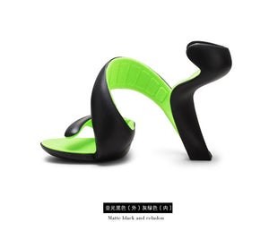 Bottomless Snake High Heels Platform Sandals - 64 Corp