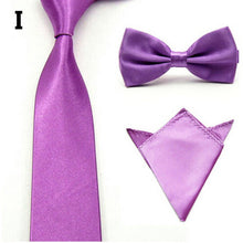16 Colors  Men Tie Bowtie Pocket Adjustable Plain Wedding Bow Tie For Evening Party solid color Neckties butterflies GB1712171 - 64 Corp
