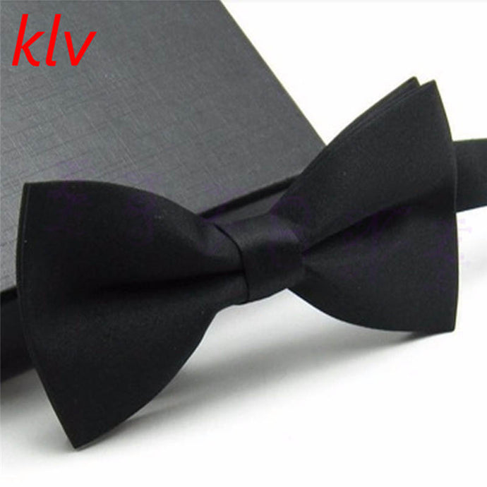 KLV New Boys Girls School Fashion Bow tie For Kids Bowtie Solid Candy Colorful Baby Butterfly Cravat Gravata - 64 Corp