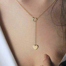 H26 Free Shipping New Fashion Heart Leaf Moon Pendant Necklace Crystal Necklace Women Holiday Beach Statement Jewelry Wholesale - 64 Corp