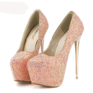 Thin High Heels Slim Party Shoes - 64 Corp